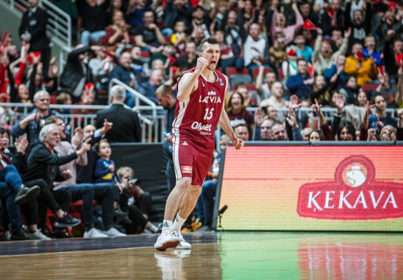 Letonia a controlat-o timp de trei sferturi pe Bosnia dar a cedat pe final