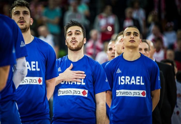 Lotul de 12 al Israelului pentru partida împotriva României