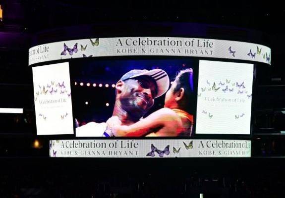 Memorialul lui Kobe și al Giannei, un moment de forță și inspirație