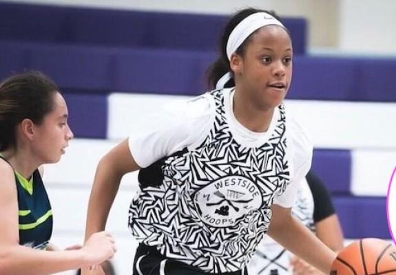 Fiica lui Shaquille O'Neal poate să înscrie prin slam dunk la doar 13 ani. Video