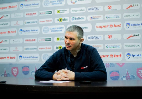 """Cristian Achim: """"A fost un meci spectaculos în care Clujul ne-a dominat trei sferturi"""""""