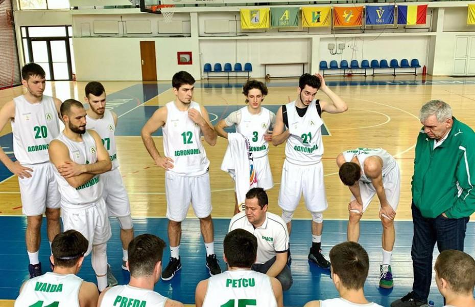 Liga 1 Masculin. CN Aurel Vlaicu și Agronomia completează careul de ași al competiției