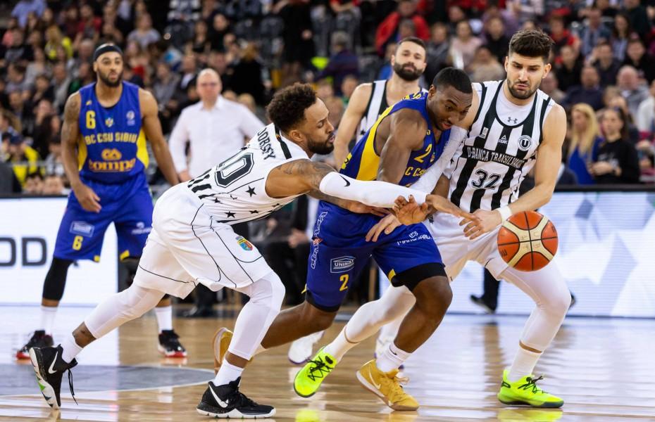 CSU Sibiu va juca în faza grupelor în FIBA Europe Cup, U-BT Cluj va evolua în turul preliminar