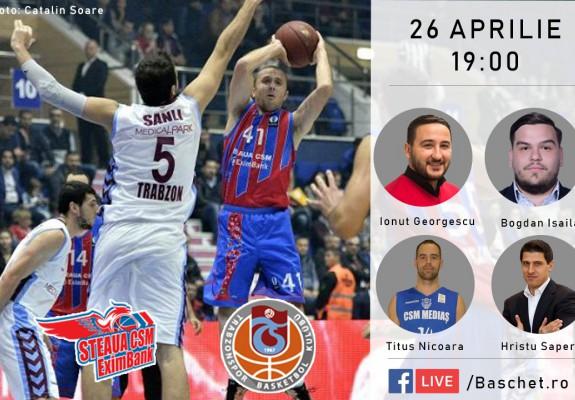 Hristu Șapera și Titus Nicoară, invitații baschet.ro la discuția privind parcursul Stelei în EuroCup