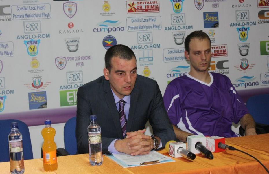 Tudor Costescu şi Octavian Popa Calotă, amintiri despre finala câştigată în 2012 cu BCM U Piteşti