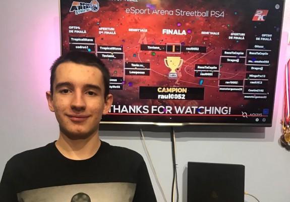Istoria baschetului 3x3 se rescrie online: Primul campion la eSport Arena Streetball a fost desemnat duminică seară și e din Timișoara!