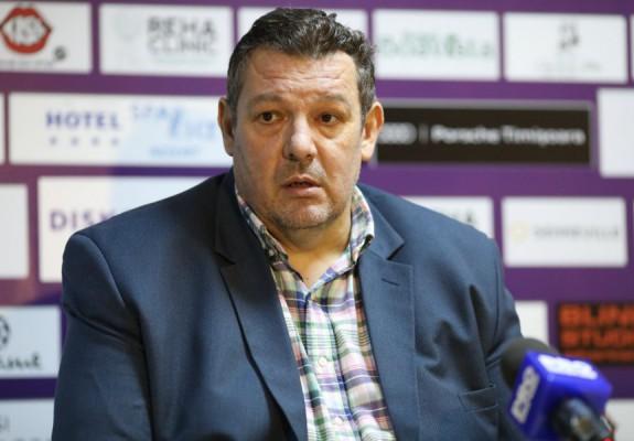 """Dragan Petricevic: """"Noi ne propunem și sezonul viitor să facem o echipă competitivă"""""""