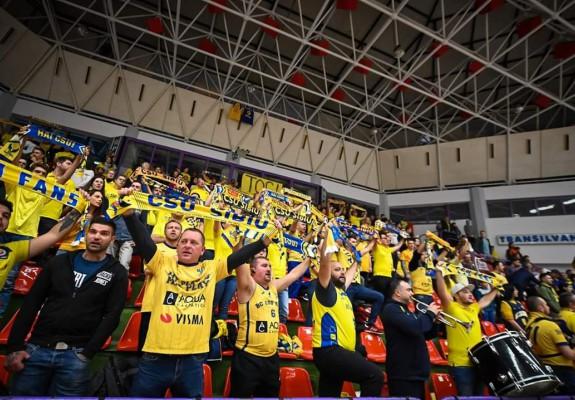 CSU Sibiu se revanșează față de suporterii abonați