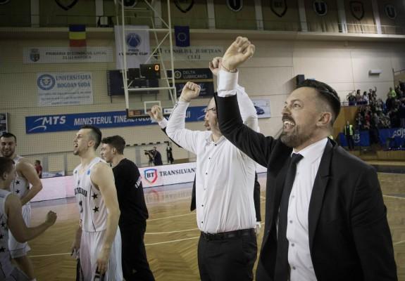 U-BT Cluj a refuzat participarea în sezonul viitor al EuroCup