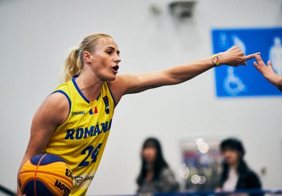 Lotul olimpic de baschet 3x3 al României a intrat în cantonament