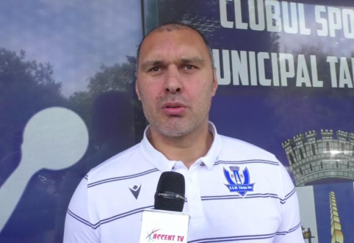 Claudiu Alionescu a dat informații despre viitorul lui CSM Târgu Jiu