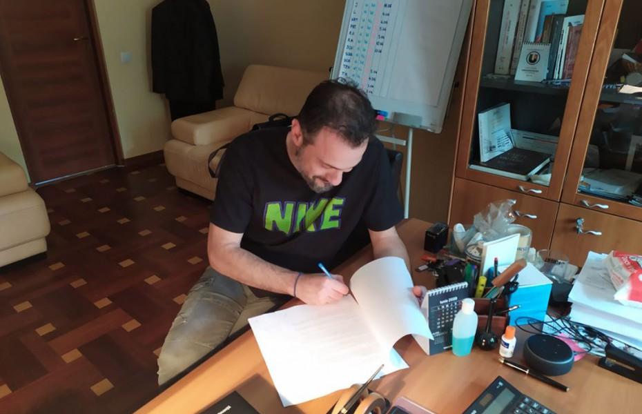 Ioannis Koukos și-a prelungit întelegerea cu CS Universitatea Cluj-Napoca