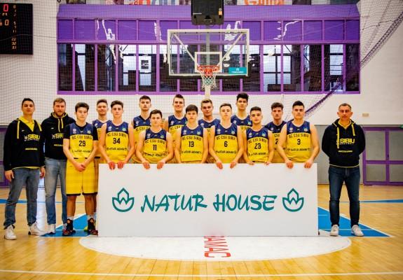 Final8 Masculin. CSU Sibiu U18 – lotul de jucători și staff-ul tehnic