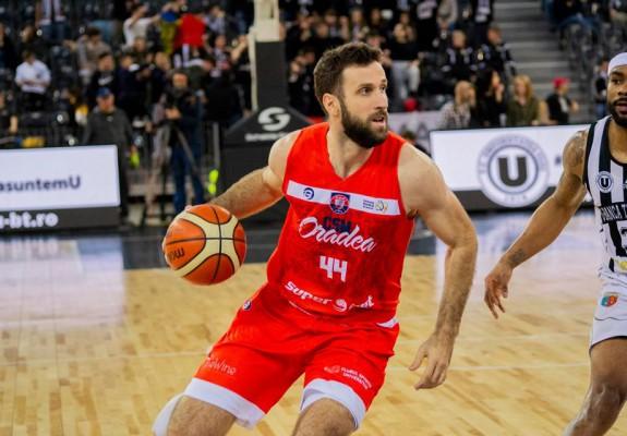 """Nikola Markovic: """"A fost ușor pentru mine să semnez pe trei ani cu Oradea"""""""
