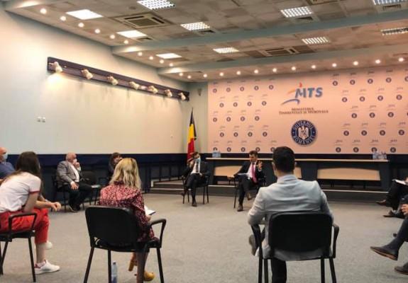 Reprezentanții federațiilor naționale s-au întâlnit cu Ministrul Tineretului și Sportului