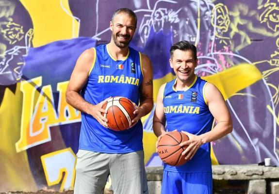 Ministrul Sportului, Ionuț Stroe, a jucat un meci de baschet cu Virgil Stănescu. Video