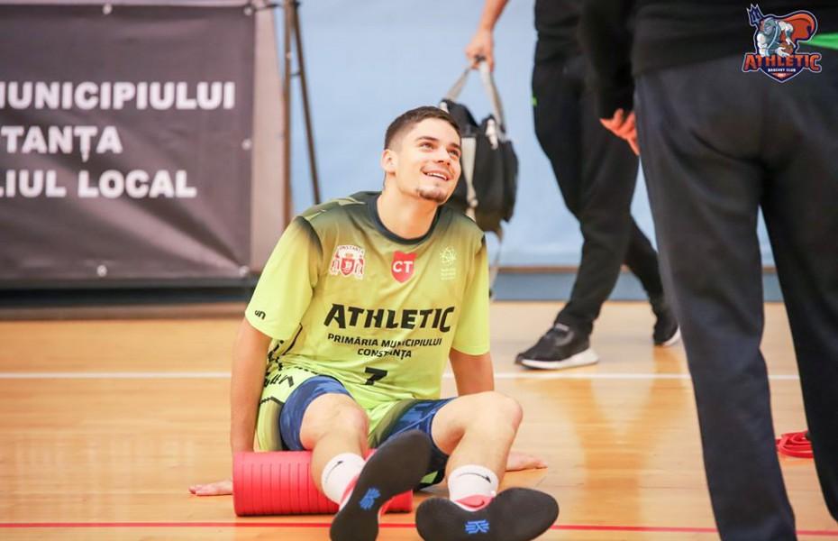 Andrei Oprean rămâne la SCM U Craiova