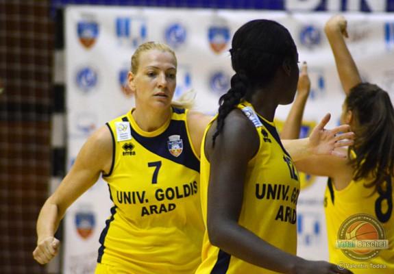 Ildiko Nagy este din nou jucătoarea celor de la FCC Baschet Arad