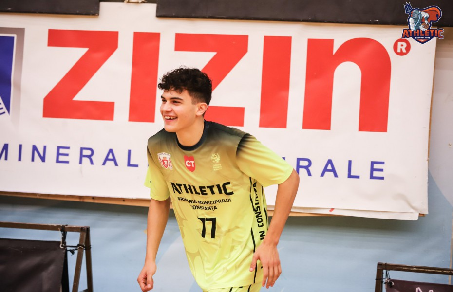 Christian Chițu continuă la BC Athletic Constanța