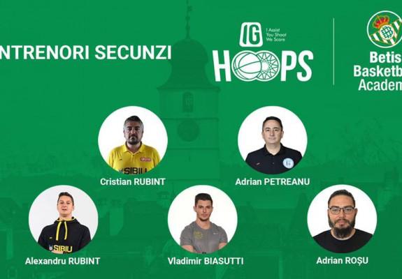Cinci antrenori români vor fi secunzi la Real Betis Baloncesto Camp