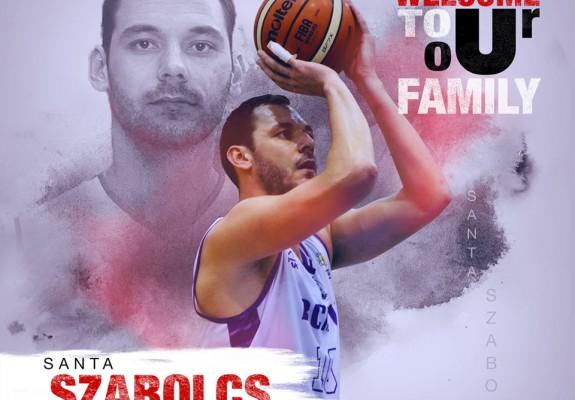 Santa Szabolcs a revenit la U-BT Cluj-Napoca