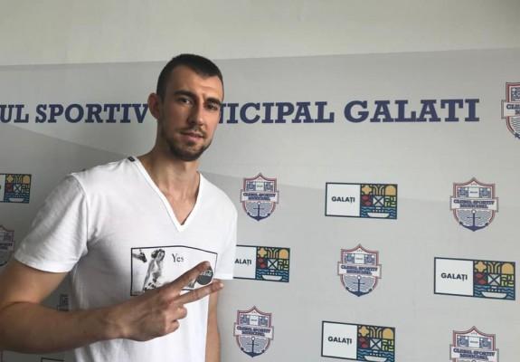 Vlad Negoițescu va face parte și în stagiunea următoare din lotul lui CSM Galați