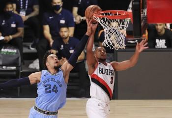 Portland Trail Blazers câştigă un thriller cu Memphis Grizzlies. Video