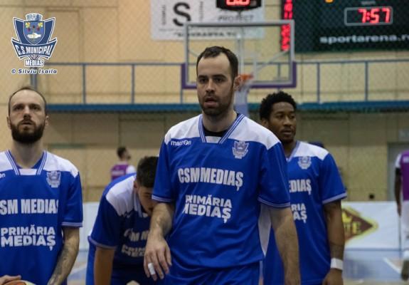 Titus Nicoară, încă un sezon la CSM Mediaș