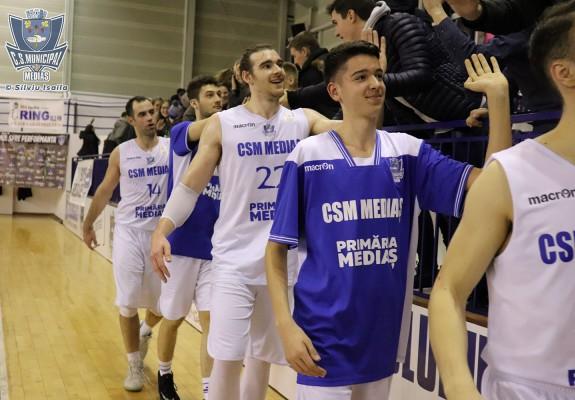Rareș Hancaș va face parte din lotul lui CSM Mediaș