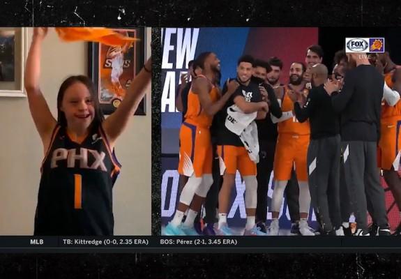Video emoționant pentru jucătorii de la Phoenix Suns