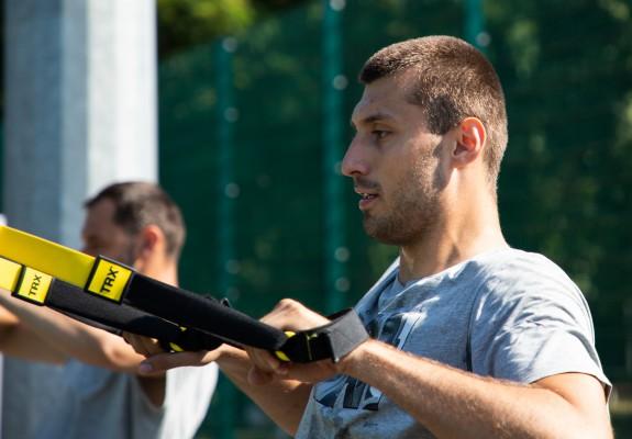 """Karlo Zganec: """"Este o plăcere să fiu aici și să joc încă un sezon la U-BT"""""""