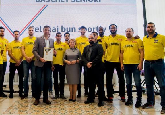 Primăria Sibiu acordă un sprijin financiar considerabil echipei de baschet