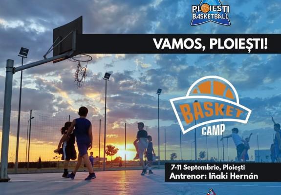 Camp de baschet la Ploiești în perioada 7-11 septembrie