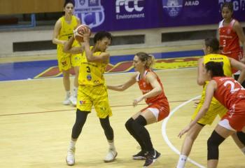Adrienne Webb a ajuns în campionatul din Belarus