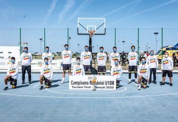 TF U18M - CSM Focșani este noua campioană națională