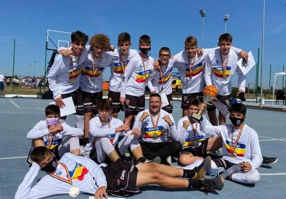 U-BT Cluj-Napoca a câștigat titlul național U14 cu un coș înscris în ultima secundă