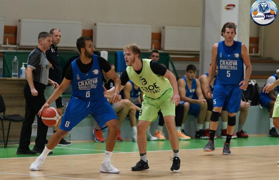 SCM Craiova a câștigat la scor amicalul cu BC Beroe