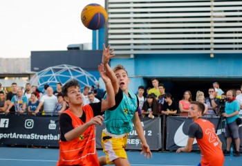 Salt virtual: Campion anul trecut la baschet 3x3, victorios acum și pe consolă la Raiffeisen Bank eSport Arena Streetball