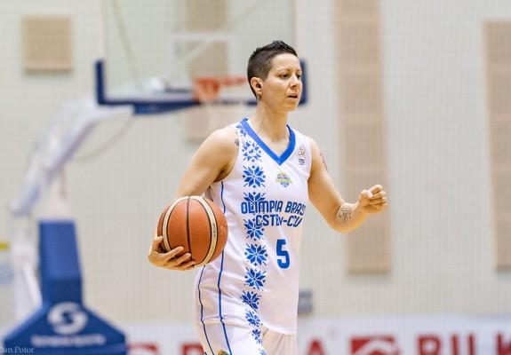 Biljana Pesovic continuă pentru al șaselea sezon consecutiv la Olimpia Brașov