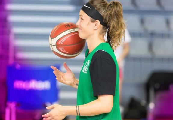 Gabriela Mărginean, cea mai bună marcatoare a meciului dintre Nantes și Bretagne