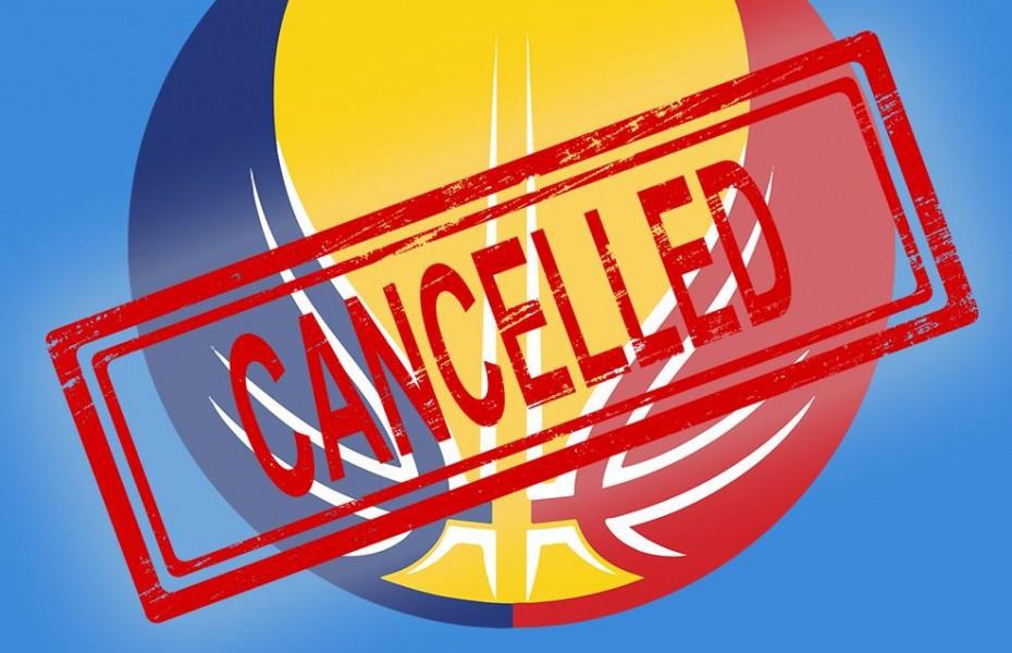 Turneele de calificare în Final 8-ul Cupei României au fost suspendate