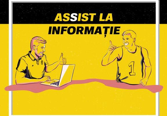Assist la Informație - Noul newsletter Baschet.ro!