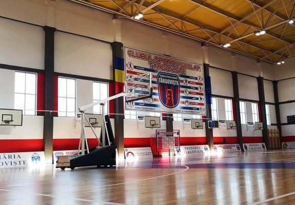 Sala de sport a CSS Târgoviște a fost modernizată