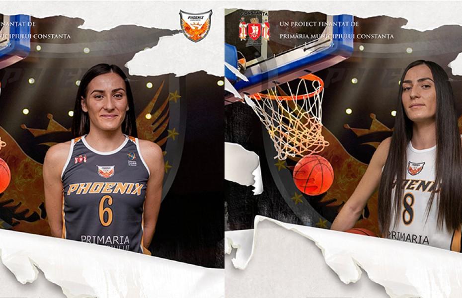 Bianca și Denisa Fota vor juca la Phoenix CSU Simona Halep Constanța