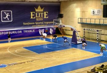 BCM U Pitești se antrenează în efectiv redus