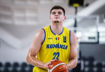 Ștefan Grasu, nominalizat pentru trofeul de MVP la EuroBasket U16 – divizia B