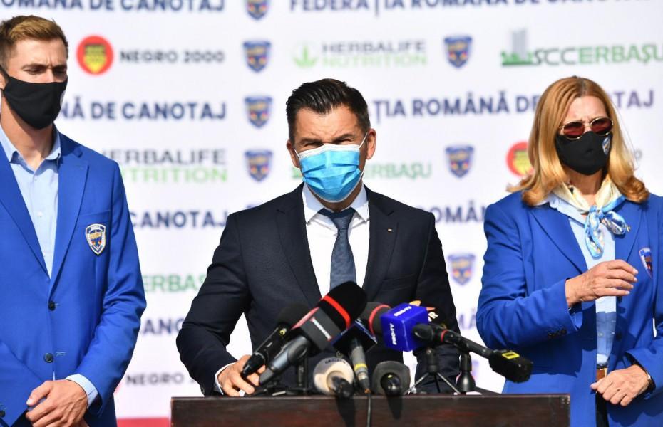 Ionuţ Stroe:  Sportul românesc nu este în pericol de a fi din nou suspendat