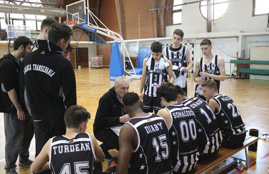 Academia U BT Cluj-Napoca va lua startul în Euroleague Basketball Adiddas Next Generation cu echipa U18