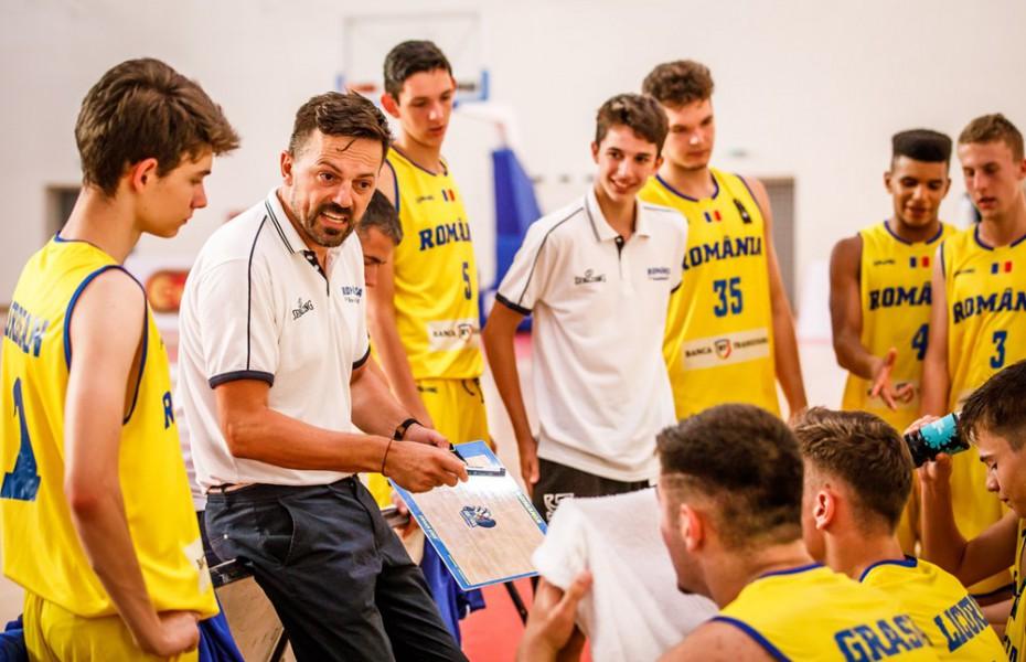 România U16 a făcut instrucție cu Finlanda la EuroBasket – divizia B
