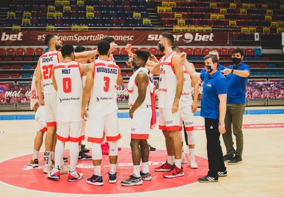 CSM CSU Oradea a câștigat clar partida cu Athletic Constanța